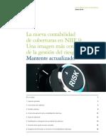 Deloitte ES Servicios Financieros NewsletterNIIF9 Coberturas Enero2014