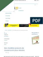 Des Modèles Gratuits de Couvertures Pour eBooks Kris3D