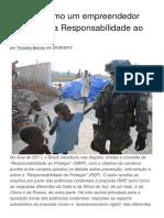 O Brasil e a Responsabilidade ao Proteger - Thorsten Benner
