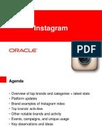 Oracle Instagram Guide