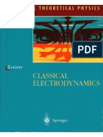 Classical Electrodynamics - Walter Greiner