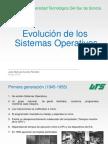 Evolucion de los SistemasOperativos