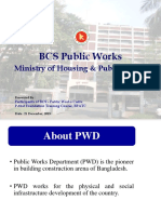 PWD Service Presentation