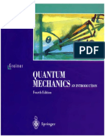 Quantum Mechanics, An Introduction - Walter Greiner