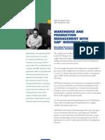 SAP Business One Brochure - Warehouse Management