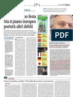 Libero 11 Mag 2010 - Giorno di follia nelle sale operative. «A breve il contrattacco all'euro»
