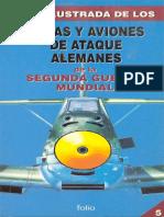 Folio - Guía ilustrada de los (05) Cazas y aviones de ataque alemanes de la segunda guerra mundial [Spanish e-book][By alphacen].pdf