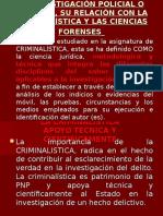 4. La Investigación Policial o Investigación Criminal