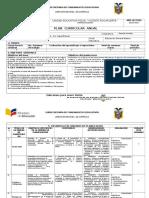 Planificación Anual- Estudios Sociales 9B 2016