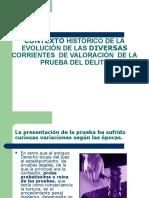8. Contexto Historico de La Evolución de La Valoración de La Prueba