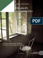 Elizabeth Ha Desaparecido - Emma Healey