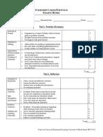 Portfolio Grade Sheet 7