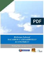 Reforma Laboral. SALARIOS Y DESARROLLO ECONOMICO