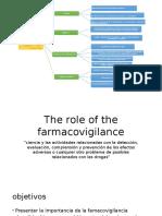 The Role of the Farmacovigilance