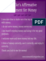 Some Rev Ike Money Affirmations