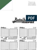 Batalha Naval - Imprima e jogue