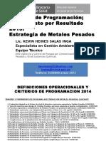 Programacion PPR 2015 Lic. Kevin Heines
