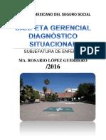 Diagnóstico Situacional 2016 Chayito