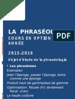 C 1Phraséologie Présentation