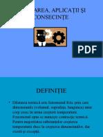 dilatarea