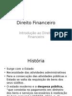 Introdução Ao Direito Financeito - Direito Financeiro