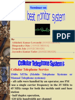 Cellular Telephone System