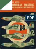 North American Mustang in RAF, RAAF,SAAF, RNZAF, RCAF & Foreign Service
