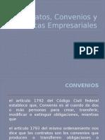 Contratos, Convenios y Practicas Empresariales