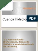 Unidad 1 Hidrológica superficial