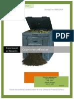 Planificação do projecto de compostagem escolar