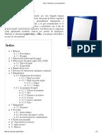Papel - Wikipedia, La Enciclopedia Libre