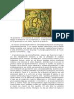 El Gnosticismo Es Un Conjunto de Corrientes Sincréticas Filosófico