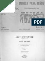 Musica Para Niños - Orff - Ciclo I (Preparatorio)