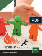 Cuaderno Guía con Claves para prevenir y:o actuar ante Incendios en Centros Escolares