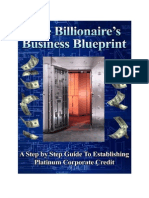 $ The Billionaire's Business Blueprint $