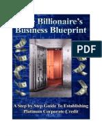 $ The Billionaire's Business Blueprint $