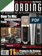 A7X Recording Review 2016