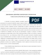 Identidade_ Questões Conceituais e Contextuais