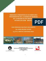 2012, RESTREPO JUAN F. Emisiones Atmosfericas de Mercurio Provenientes de La Quema de Biomasa en La Region de Rio Branco, Estado de Acre - Brasil
