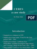 Organics Case Study Ceres