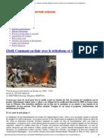 African History – Histoire Africaine [Defi] Comment en Finir Avec Le Tribalisme Et La Xenophobie