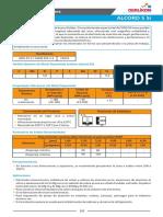 Ficha Tecnica Alcord 5 Si
