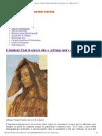 African History – Histoire Africaine [Opinion] Faut-il Encore Dire «Afrique Noire»