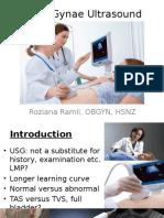 Basic Gynae Ultrasound