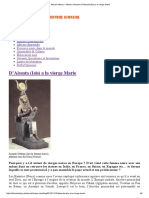 African History – Histoire Africaine D'Aissata (Isis) a La Vierge Marie
