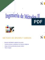 Metodo de Brown y Gibson