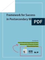 framework for success doel