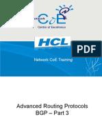 Cis185 BSCI Lecture8 BGP Part3