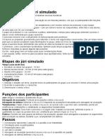 Dinâmicas - Como Fazer Um Júri Simulado - Jornal Mundo Jovem