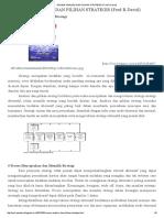 Review Analisis Dan Pilihan Strategis (Fred R David)
